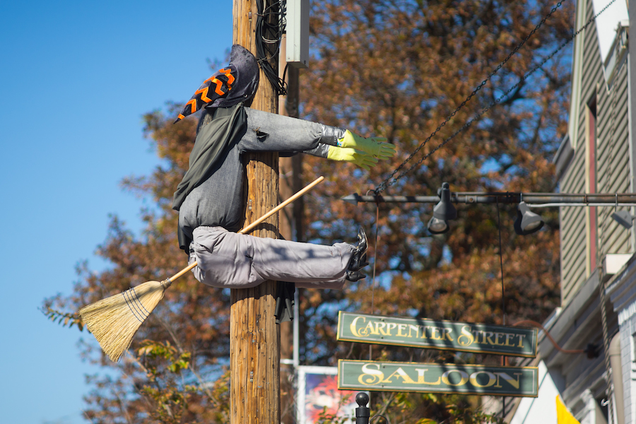 Witch on Talbot Street, St. Michaels, MD -  Sony a7 and Minolta PF Rokker 135mm f2.8 Manual Focus Lens