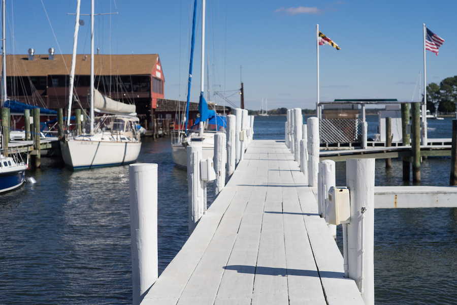 Harbor Boat Dock, St. Michaels, MD -   Sony a7 and Minolta PF Rokker 135mm f2.8 Manual Focus Lens