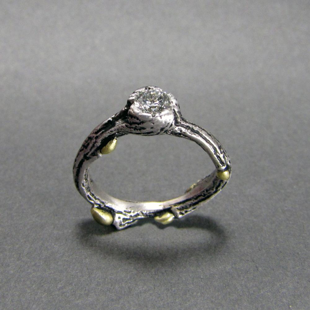 Natural Wedding Rings 020 - Natural Wedding Rings
