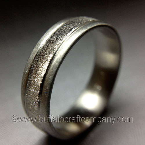 Men 39 S Wedding Bands Buffalo Craft Company LLC