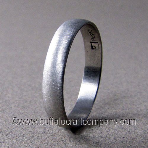 Mens Wedding Bands Buffalo Craft Company LLC