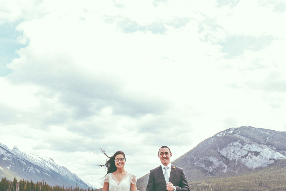 Cheryl and Colin • More love but this time Banff