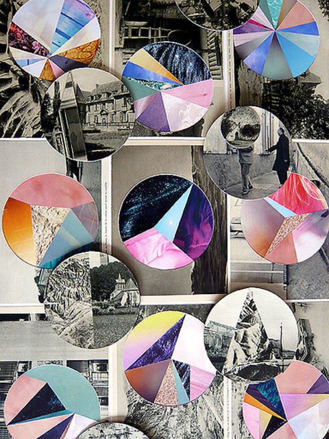 kittycreative: Collage by Eva Eun-sil Han. LOVE THIS.