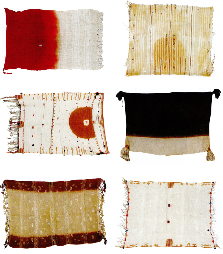 thetypologist: Moroccan veil typology. Alistair McAlpine collection, Sotheby's.