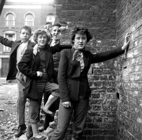 modcloth: (via Cool Cats and Tom Boys: Ken Russell's 'The Last of the Teddy Girls' - LightBox)