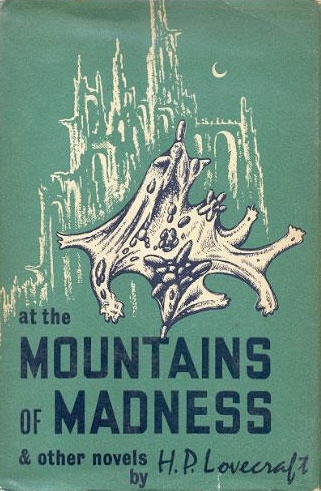 "I love these types of book covers. I just listened to a podcast of ""Mountains of Madness"" - this is the stuff I watch/listen to/read - in between or during art making."