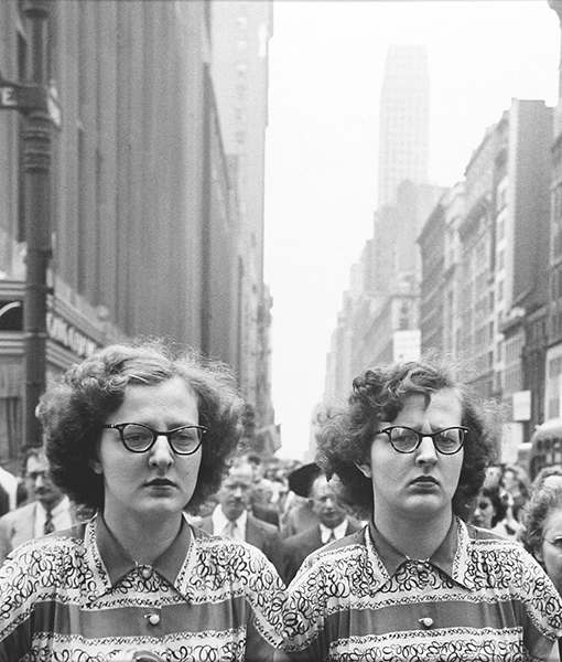 memories65: Unhappy twins by Louis Faurer