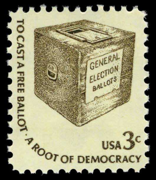 Go Vote! silentambassadors: GO VOTE, PEOPLE. Stamp details: Issued on: December 8, 1977 From: St. Louis, MO SC #1584