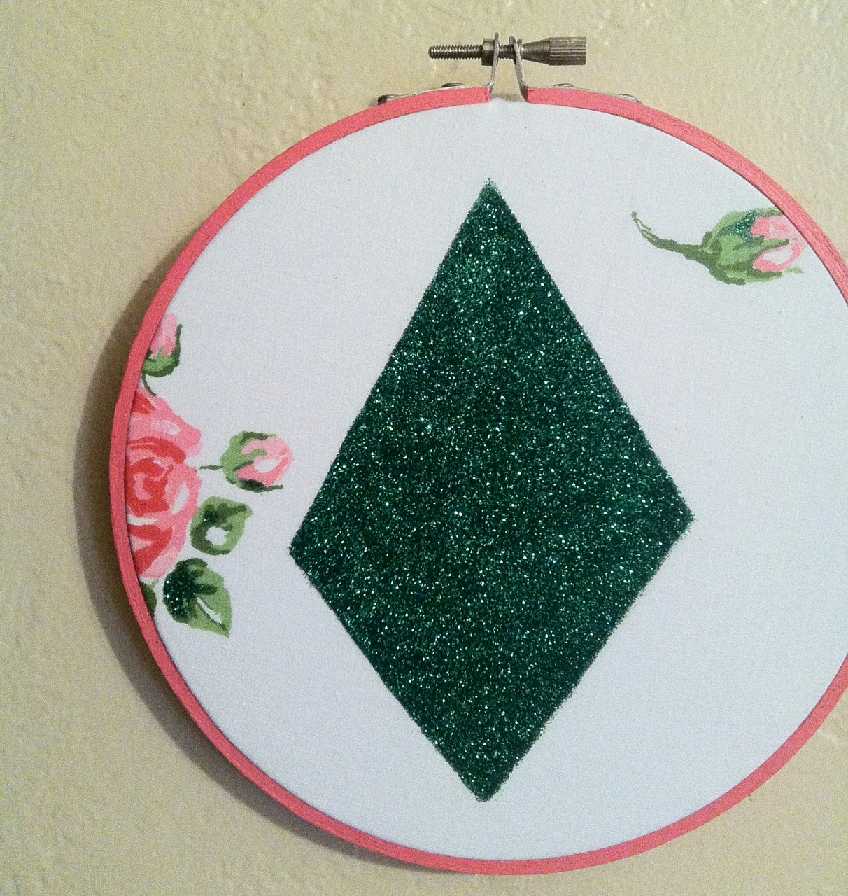 Newest piece in the geometry kitsch series. This one reminds me of Emerald City.