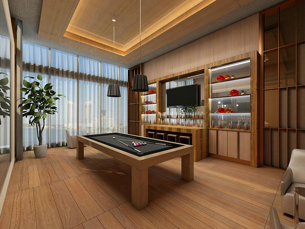 LW 4 Pri√e Social Room/Billiard