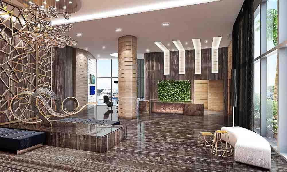 LW 7 Lobby Marina Palms Yacht Club & Residences