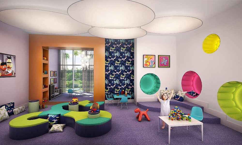 LW 11 Kids Play Room Marina Palms Yacht Club & Residences