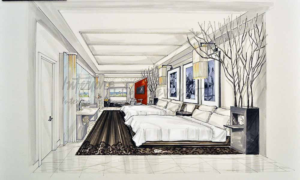 LW 13 Hotel Room