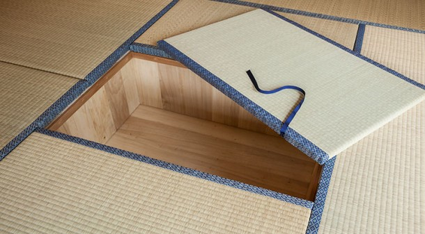 FloorStorage02. Japanese Style Floor Storage.