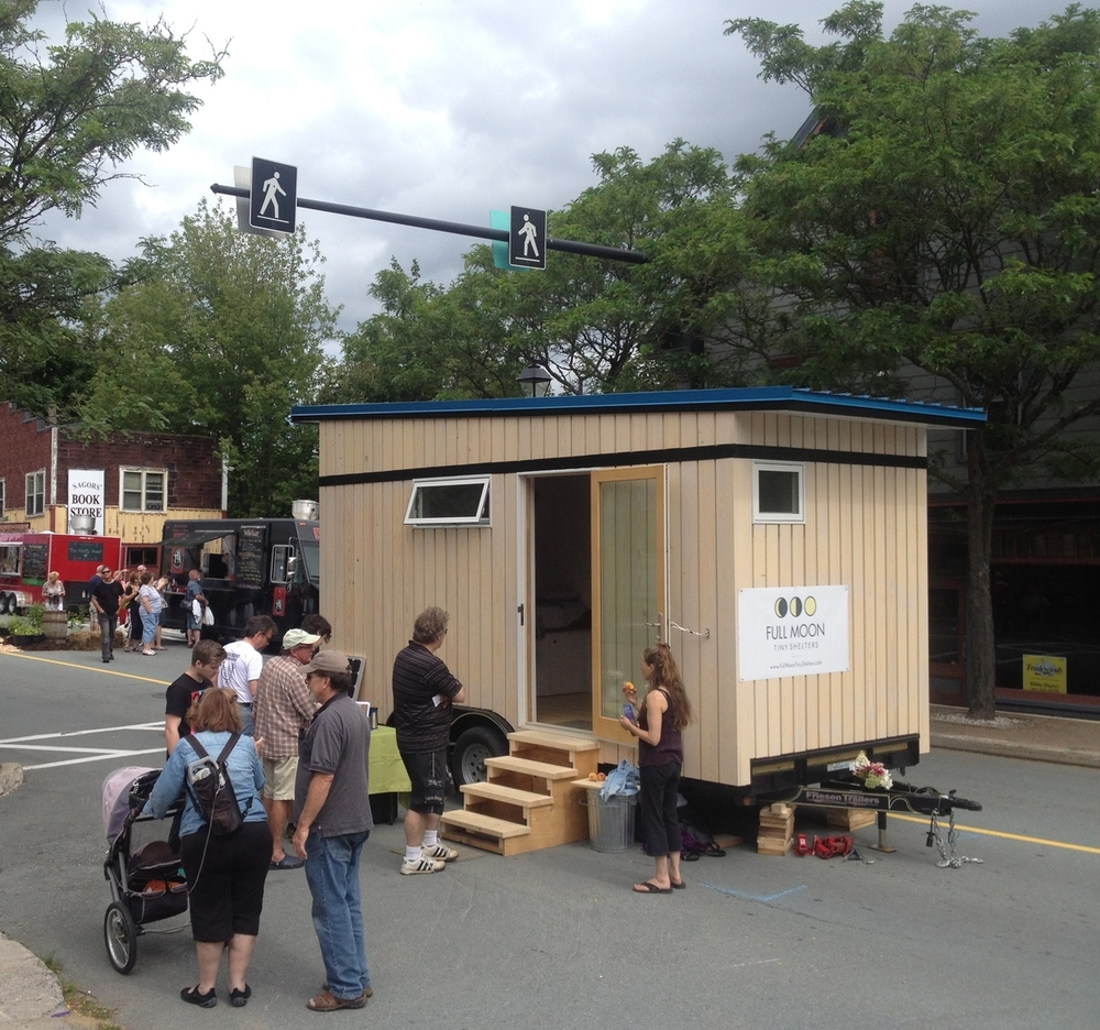 Full Moon Tiny Shelters: See Us At The Farmers' Market