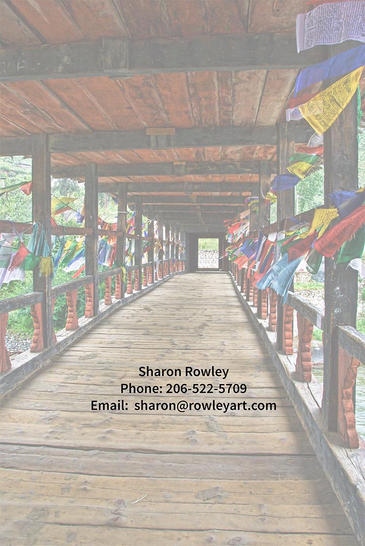 Paro Bridge, Bhutan