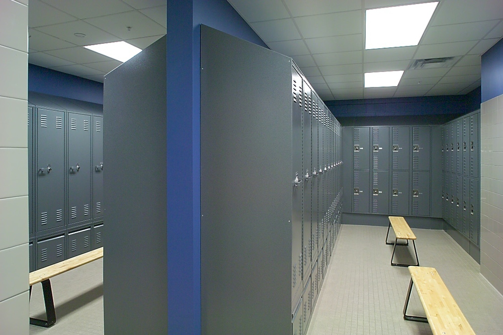 Grinnell Locker Room