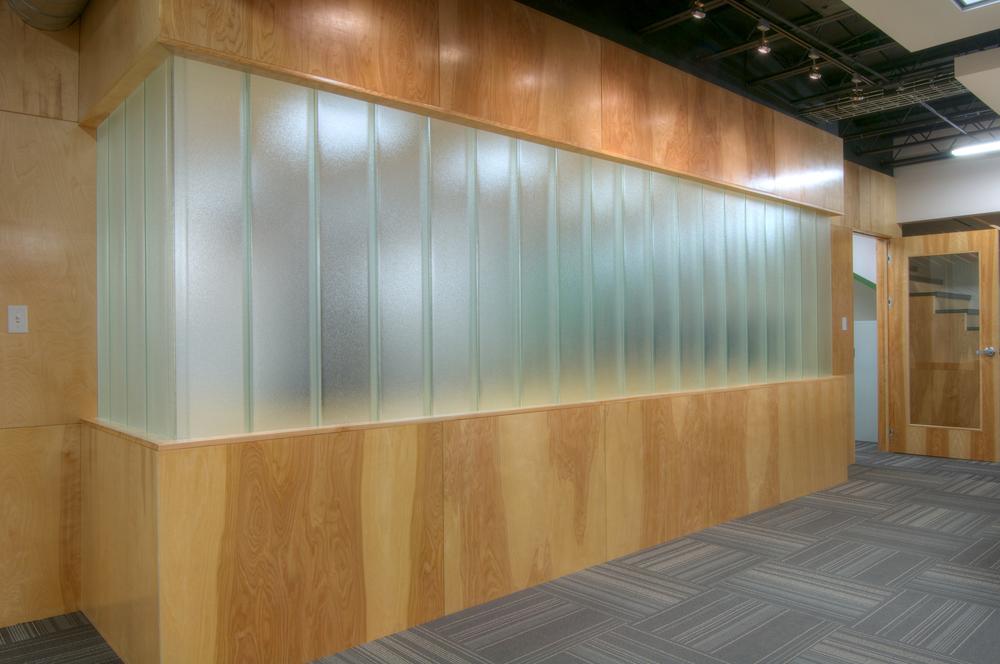 Woodruff Construction Glass Wall