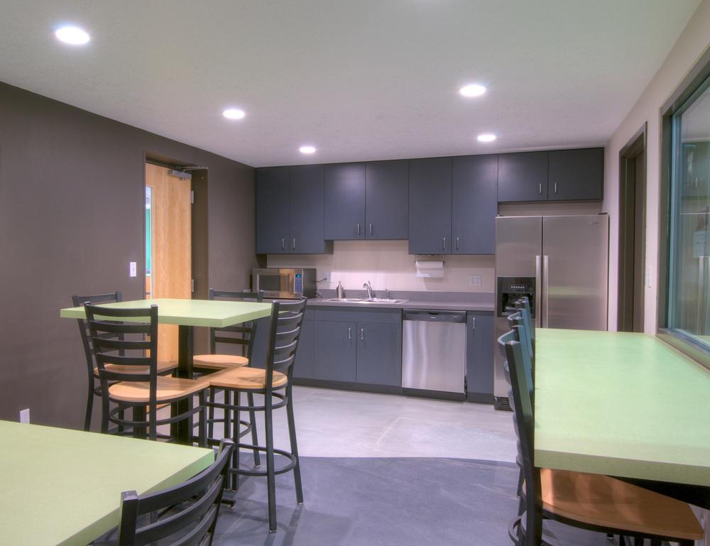 Woodruff Construction Breakroom
