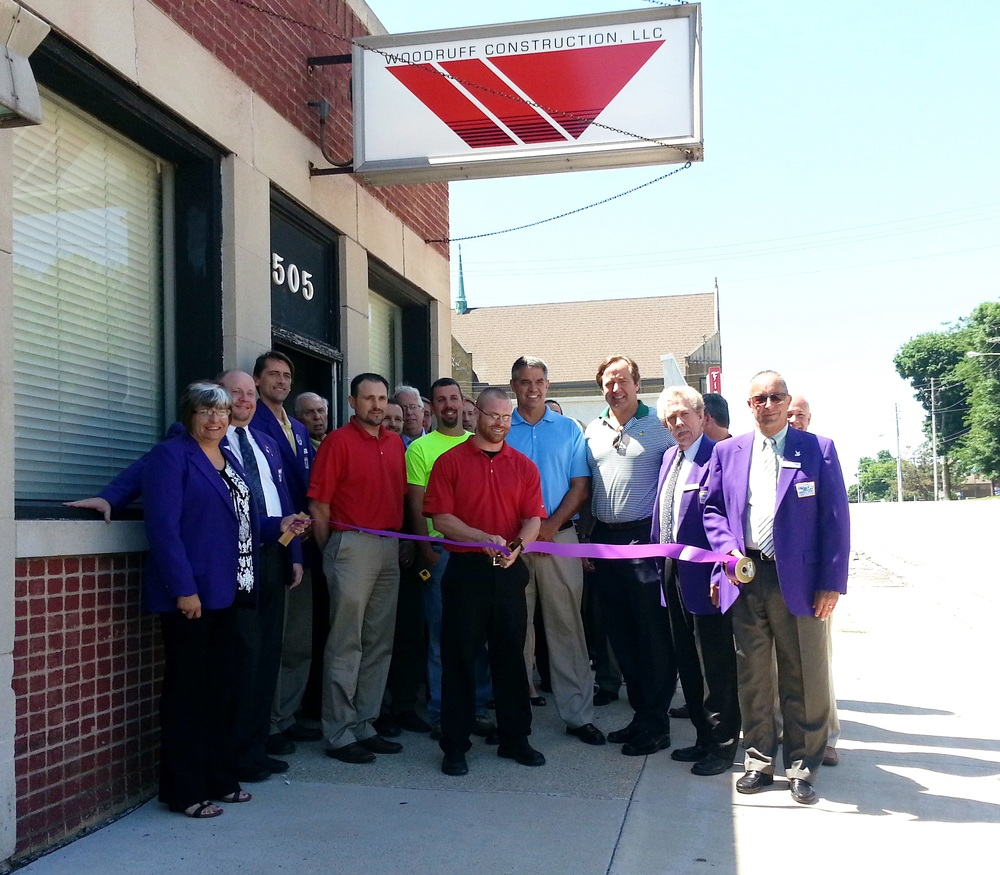 June 25, 2014 - Ribbon Cutting with the Greater Cedar Valley Alliance & Chamber