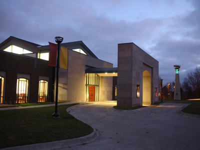 ISU Alumni Center - Construction