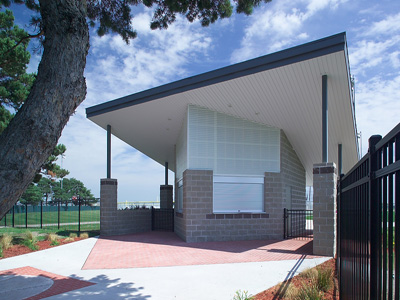 Rogers Sports Complex Ticket Booth - Design|Build