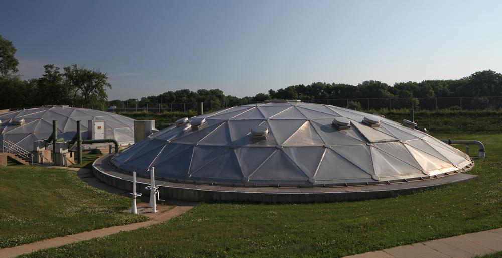 CFWRF Dome Clarifier
