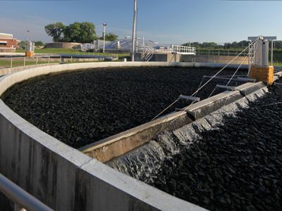 Cedar Falls Water Reclamation Facility - Construction