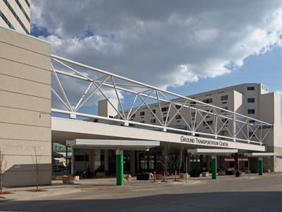 Cedar Rapids Ground Transportation Center - Construction