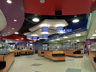 Washington High School Cafeteria - Construction