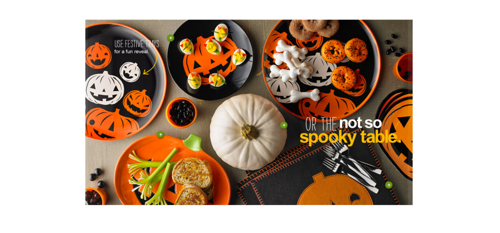 ______________________________  ART DIRECTION for Target Halloween 2012   Various projects that include Design Management, Industry Consulting, Client Relations, Pre Press Management    Image Rights:  Martha Stewart Living , Target Corporation and Mara Mi