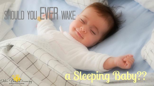 how to put my baby to sleep awake
