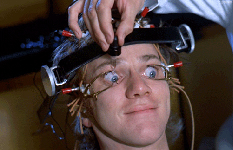 From Stanley Kubrik's A Clockwork Orange (1971)