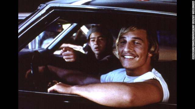 Matthew McConaughey in his breakout role from Dazed and Confused (1993)