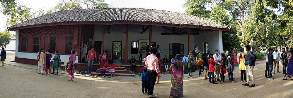 Mahatma Gandhi Ashram at Sabarmati in Ahmedabad, Gujarat