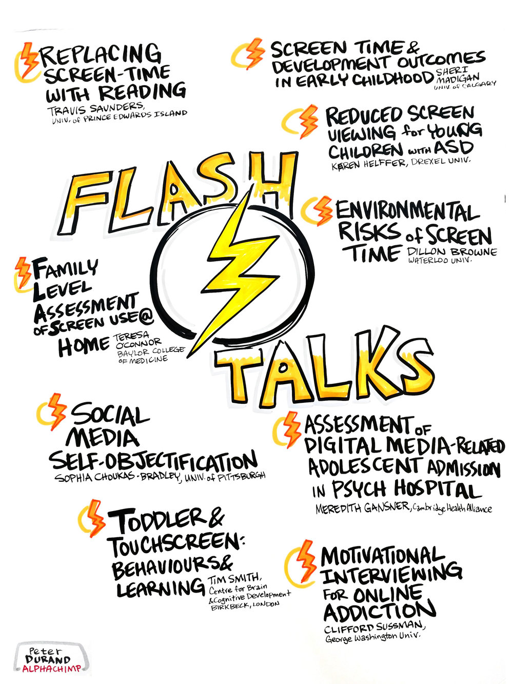 FLASH TALKS AND POSTER SESSION 1