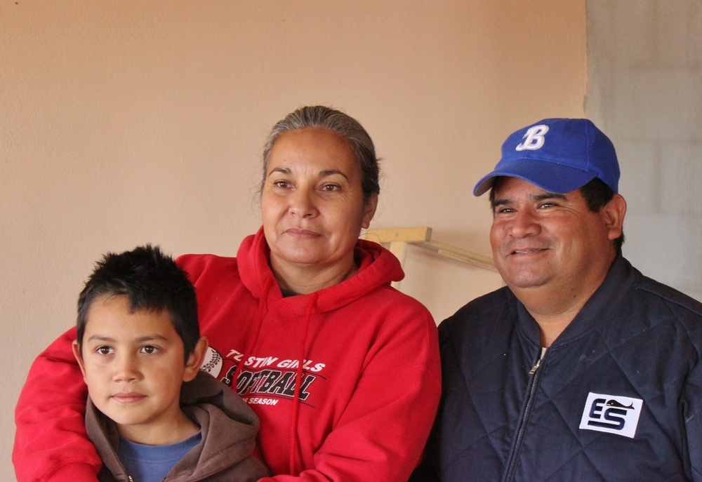 We stayed with this family in a small town just outside of Guerrero Negro. They invited us into their home when they saw we were looking for a place to set up camp. We slept on their kitchen floor. They were wonderful.