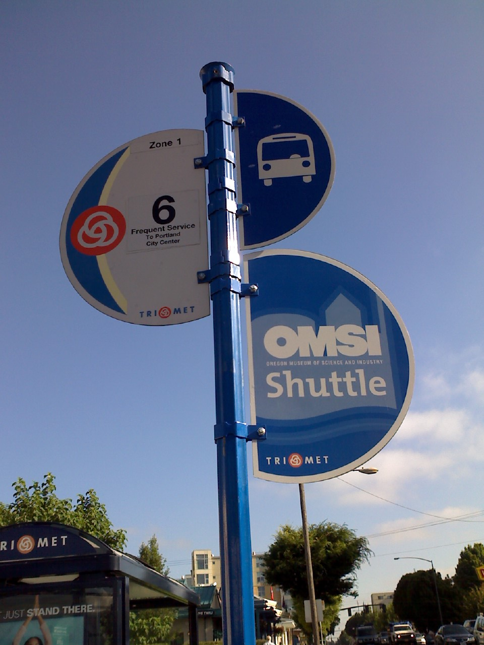 OMSI Shuttle Sign | In the Wild!