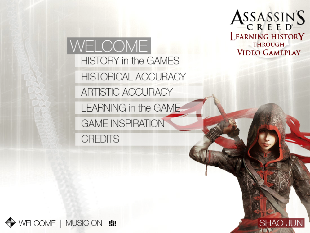Assassin's Creed - Learning History   |  Home Menu