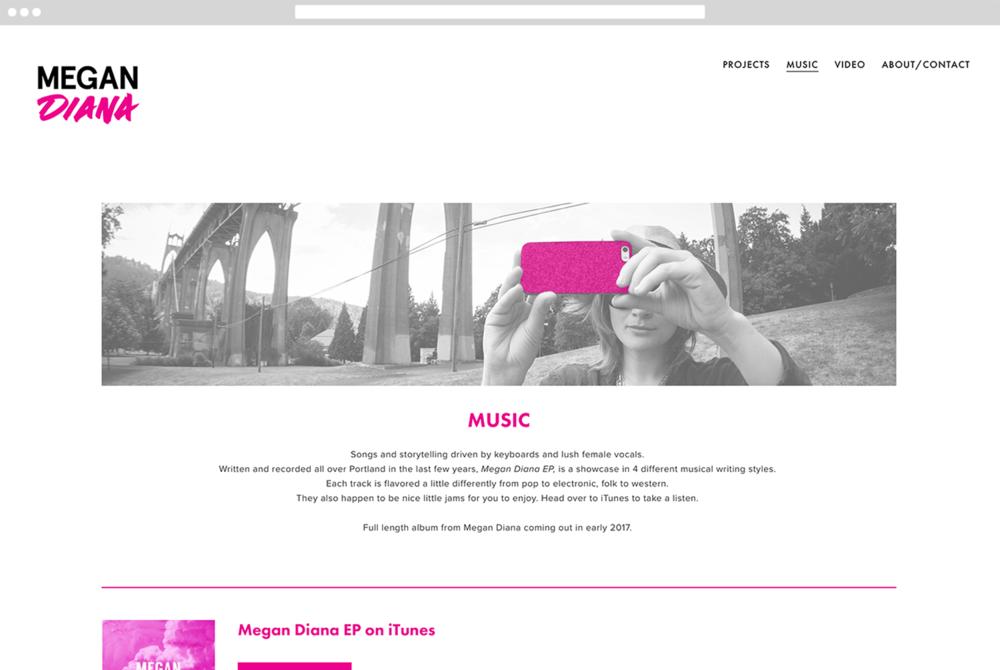 Megan Diana - Music