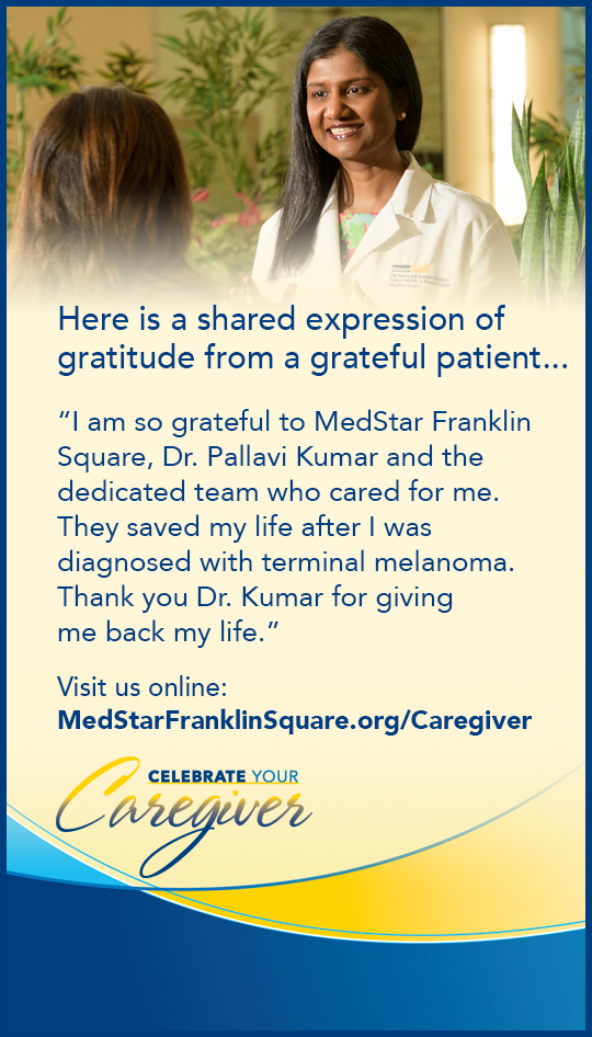 MedStar Franklin Square: Celebrate your Caregiver