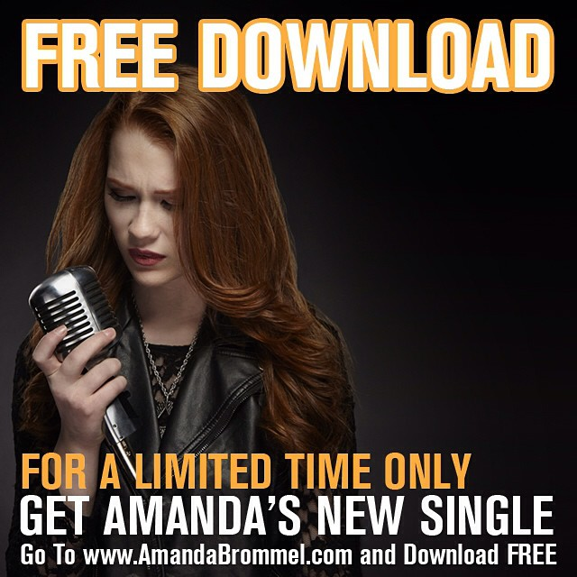 FREE DOWNLOAD! Visit my website www.amandabrommel.com to download 'Through All My Tears' for free! #freemusic #freedownload #amandabrommel #freemusic