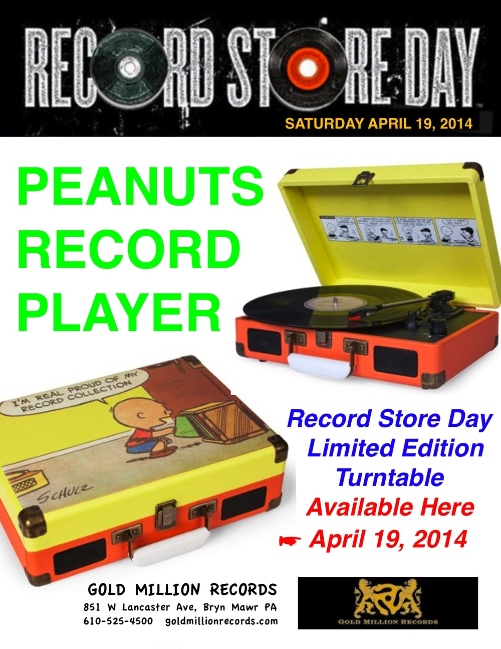 POSSIBLY THE COOLEST. CERTAINLY THE CUTEST RECORD STORE DAY EXCLUSIVE!