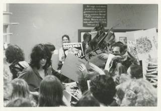 1980: ramones in-store @ plastic fantastic (now Gold Million records).