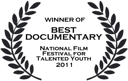From the Eyes of Hope was selected Best Documentary at the National Film Festival for Talented Youth, the largest youth film festival in the world. What a great honor! Thank you for all your support. If you are interested in hosting a screening, shoot us an email. If you want to see the film, we have hard copies for sale online. We are looking to host a downloadable version of the film in the near future. Stay tuned to hear a full story about the film festival!