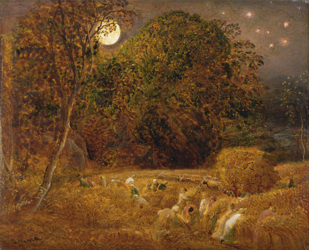 The Harvest Moon by Sammuel Palmer