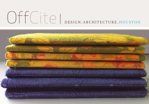Textile Series featured in Houston's OffCite Blog
