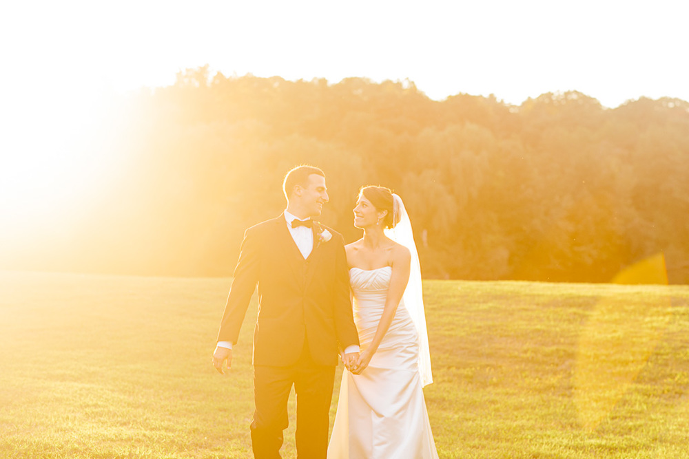 Sunshine bridal photo