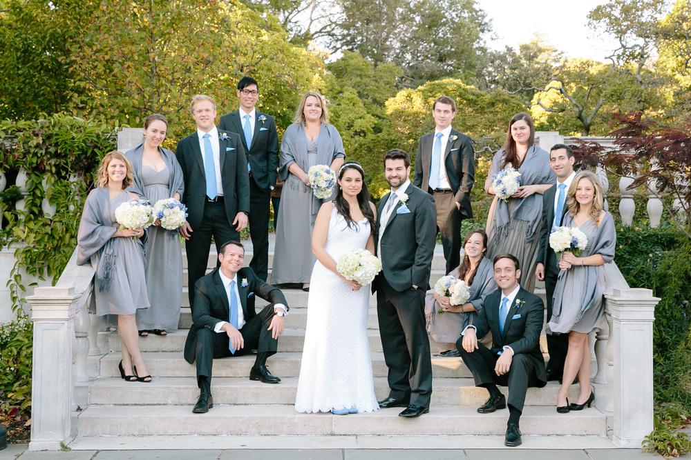 Brooklyn Botanical Garden wedding in NYC.