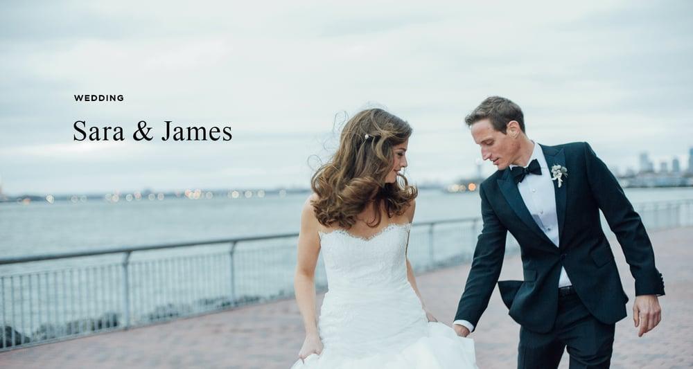 Sara and James at the Liberty Warehouse Brooklyn - Brooklyn Wedding ...
